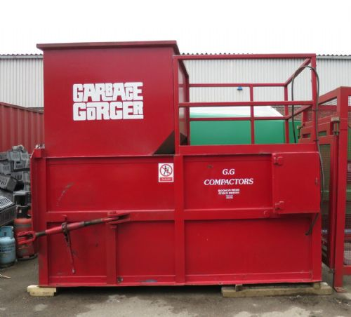 Garbage Gorger GGS3 157 Yard Static Bin Lift Rubbish Waste Compactor Compaction